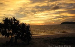 Sun Setting over the Andaman sea