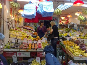 Exploring HongKong's WanChai Market