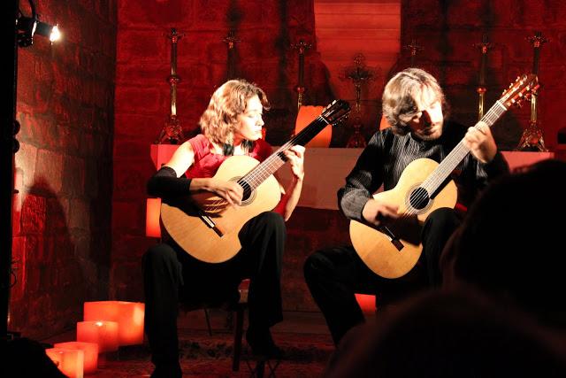 Barcelona duo guitarra spain catalonia iglesia santa anna for Guitarras barcelona
