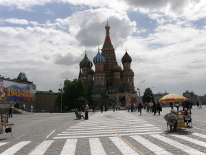 The Saint Basil Cathedral of the Red Square