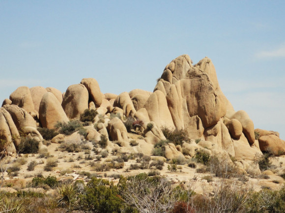A Joshue Tree Rock Formation