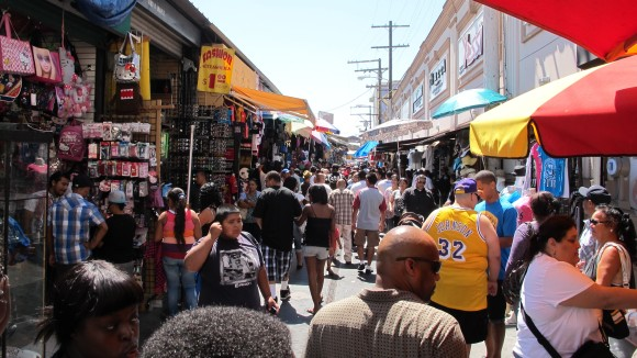 The Entrance to Santee Alley