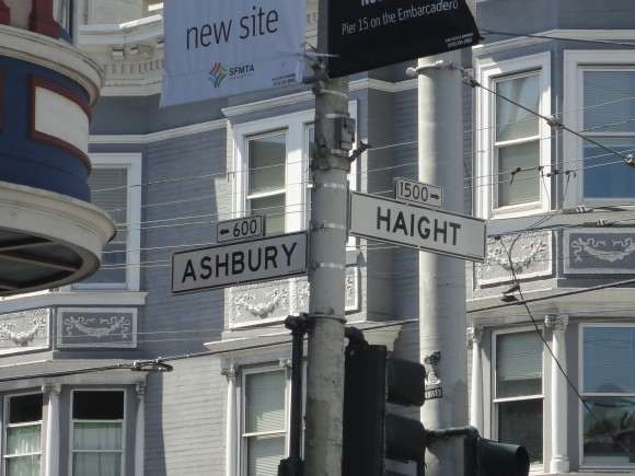 Haight Ashbury - 45 years too late but......