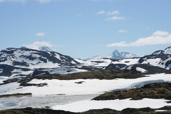 Aurlandsfjellet - winter is still holding on