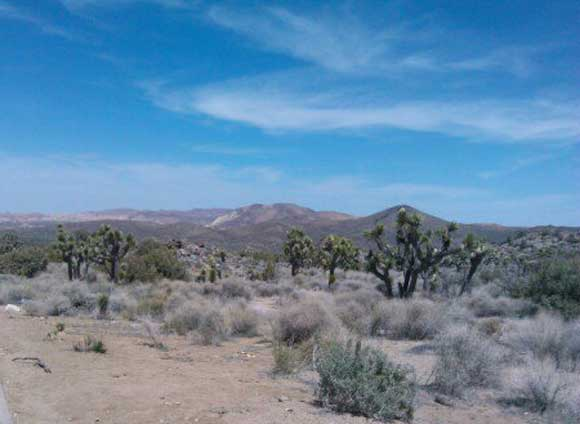 It's a dry, arid and beautiful landscape