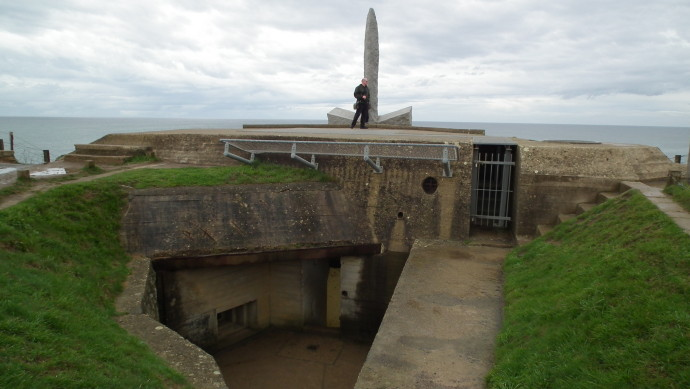 Bunker Ruins at the Pointe de Hoc