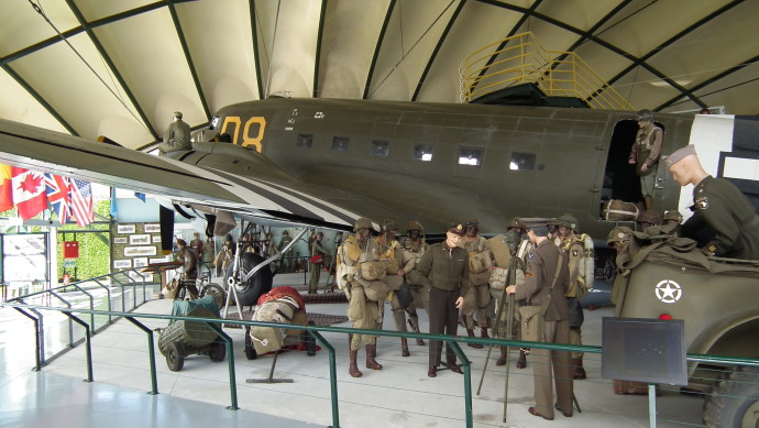 The Airborne Museum in Ste Mere Eglise