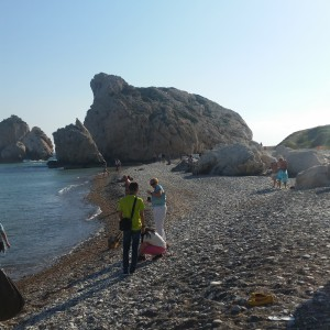 Aphrodite's Rock at Petra tou Romiou