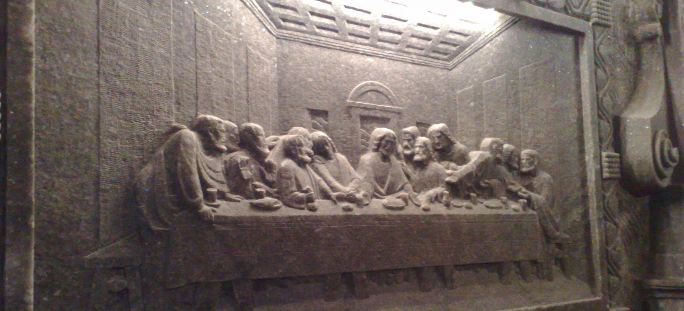 All carved in salt