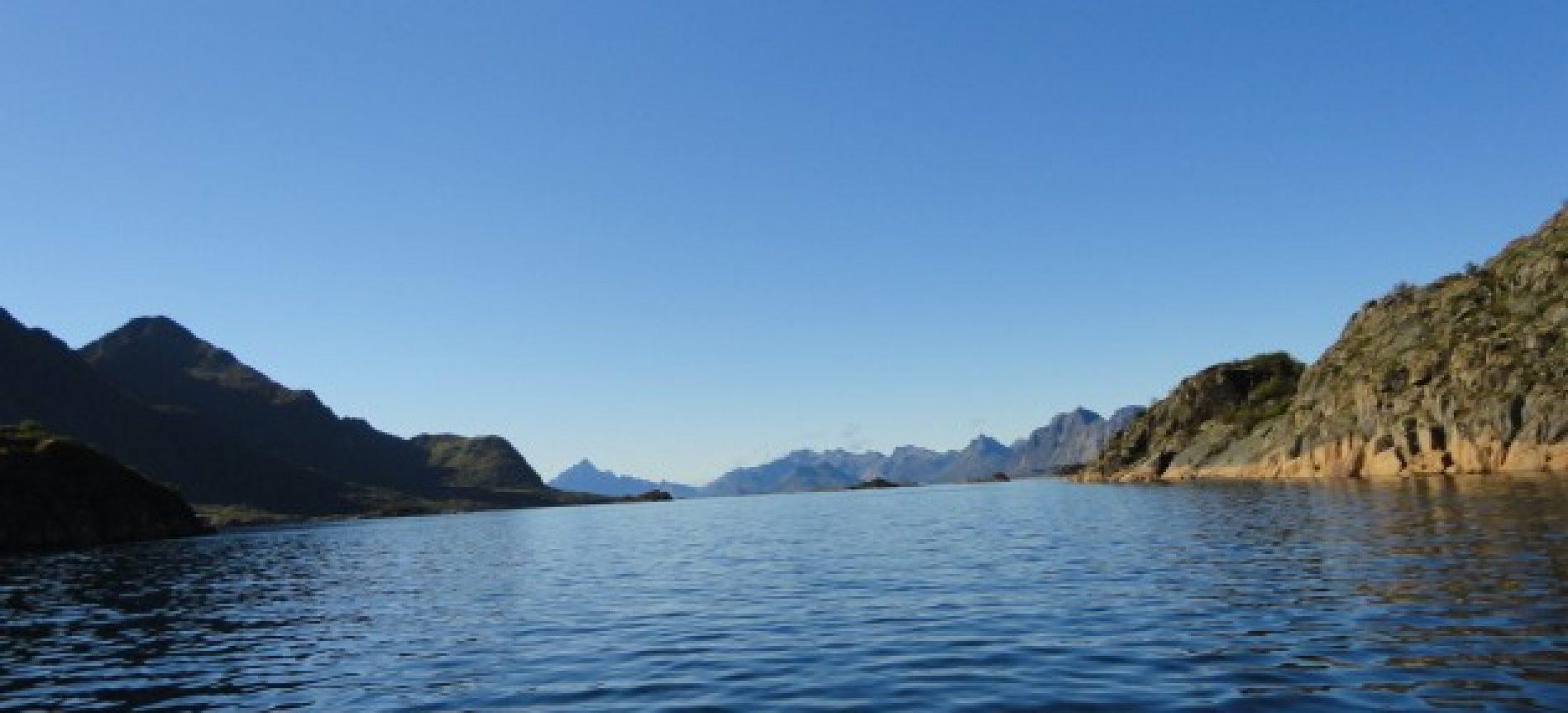 Raftsundet on a clear day