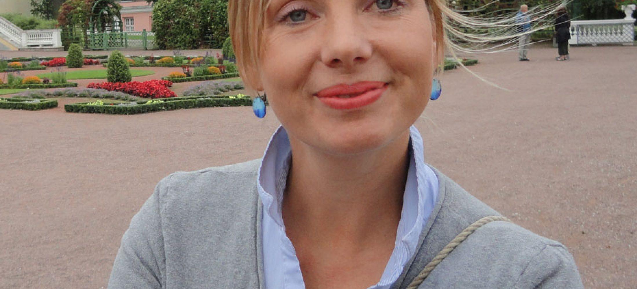 Krista Suppi our Estonian Guide